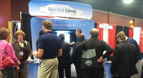 Rental Limo at the 2013 LCT Show